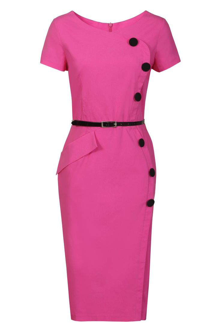 Bubblegum Pink Trend - Hybrid Dress, £85, Lovarni