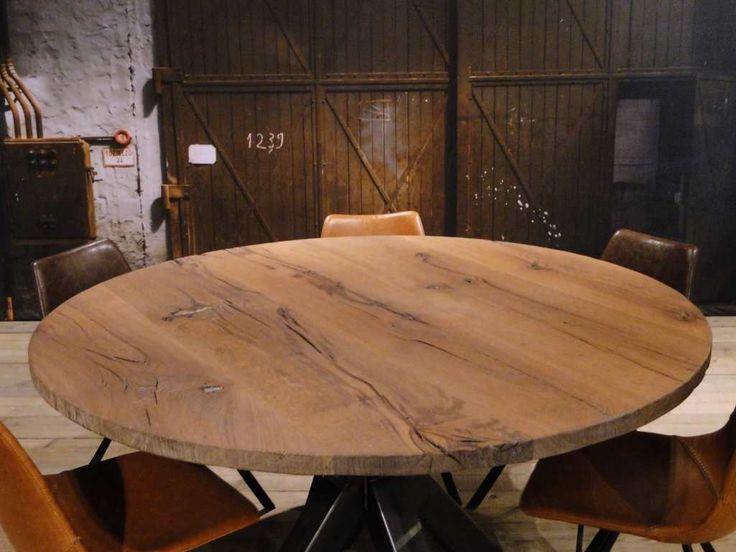 Vierkante of ronde tafel Calais - ROBUUSTE TAFELS! Direct uit voorraad of geheel op maat >>