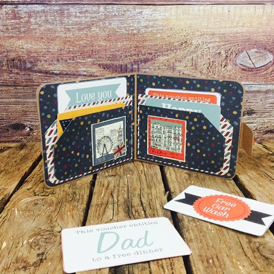Learn to make this fun keepsake wallet for your Dad this Father's Day with free printable vouchers for your Dad to redeem whenever he wants!