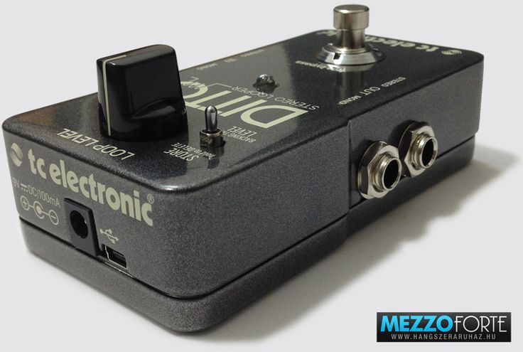 TC Electronic Ditto Stereo Looper gitár looper pedál