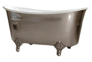 One Kings Lane - From Towels to Tiles - Candide Freestanding Oval Bathtub