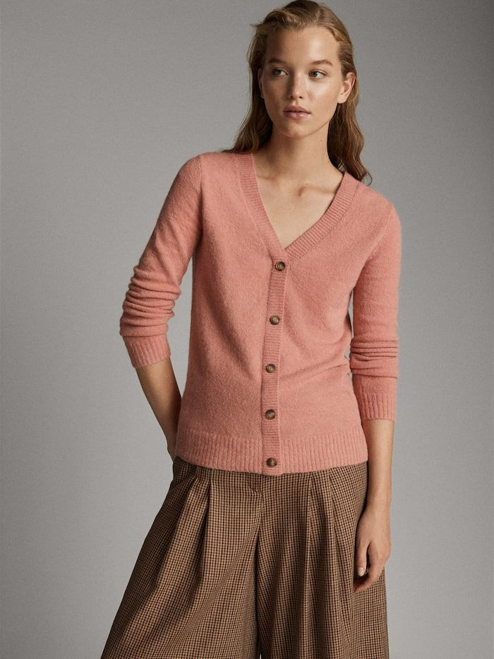 View All Sweaters Cardigans Collection Women Massimo Dutti Cardigan Sweaters Women