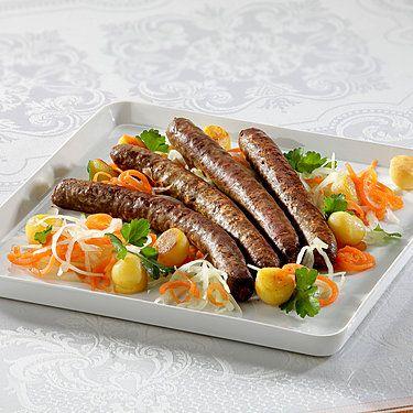 Wagyu-Rind Delikatess-Bratwürste