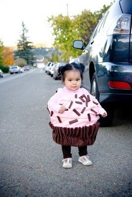 Cupcake girl - make her head the cherry :)