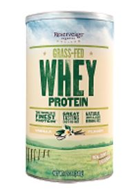 Grass-Fed Whey Protein Vanilla Flavor by Reserveage Organics - Buy Grass-Fed Whey Protein Vanilla Flavor 12.7 Powder at the vitamin shoppe