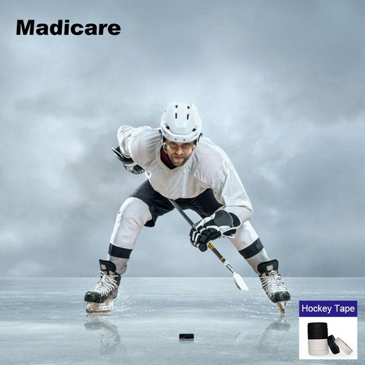 2 Rolls Ice Cloth Fabric Hockey Tape Sports Cotton Ice Stick Hockey Jersey Equipment Dedicated Game Ice Hockey Tape