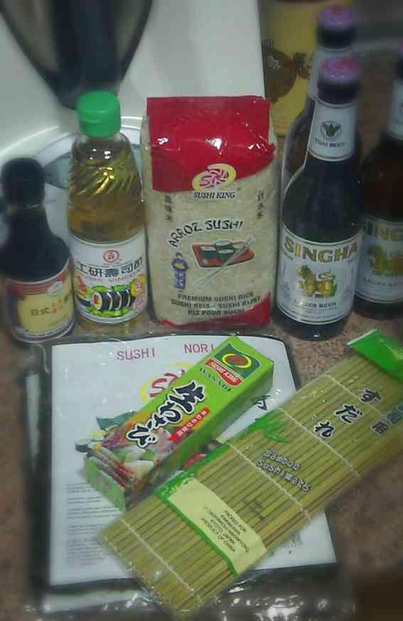 Donde comprar ingredientes para sushi en Madrid
