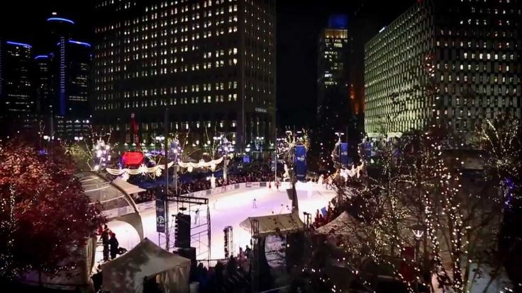 http://www.helloaerial.com/ Streaming live from WXYZ Channel 7, The Hello Aerial team captures the Christmas spirit at the 2013 Detroit Tree Lighting Ceremony at Campus Martius in downtown Detroit, Michigan with cable cam aerial footage. -- https://www.youtube.com/watch?v=XNsvuhrejo8