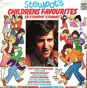Ed Stewart's 'Junior Choice' on the radio every weekend.