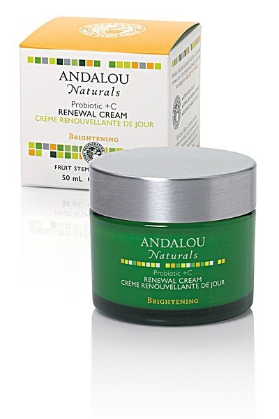 My latest discovery: Andalou Naturals. This new line is less expensive than MyChelle, and so far I love this daily moisturizer and their night cream. Looking forward to trying their masks and scrubs. Sold at health-food stores.