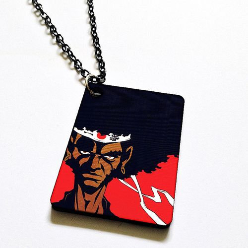 Afro Samurai necklace