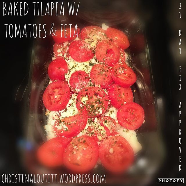 Baked Tilapia With Tomatoes And Feta