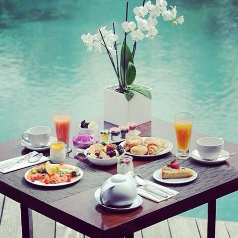 Start your day with breakfast this way, you deserve to be spoiled at Hotel Christopher!  #DDHRM #HotelChristopher #StBarth
