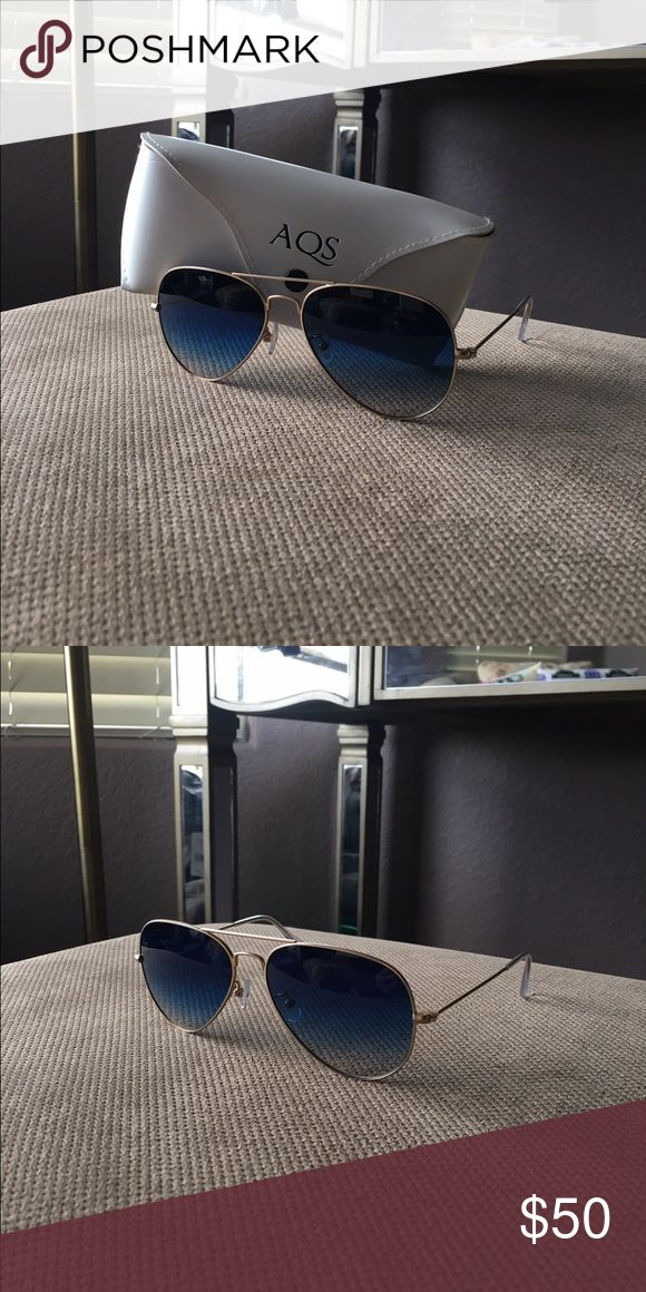Aquaswiss Women's Aviator Sunglasses In perfect condition used just a few times! Fit right on comfortable and are very sharp. It comes with the original case Aquaswiss Accessories Glasses