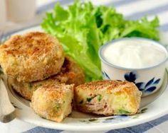 Croquettes de thon aux pommes de terre sans friture : http://www.fourchette-et-bikini.fr/recettes/recettes-minceur/croquettes-de-thon-aux-pommes-de-terre-sans-friture.html