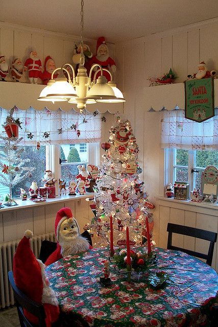 Kitchen for Christmas.