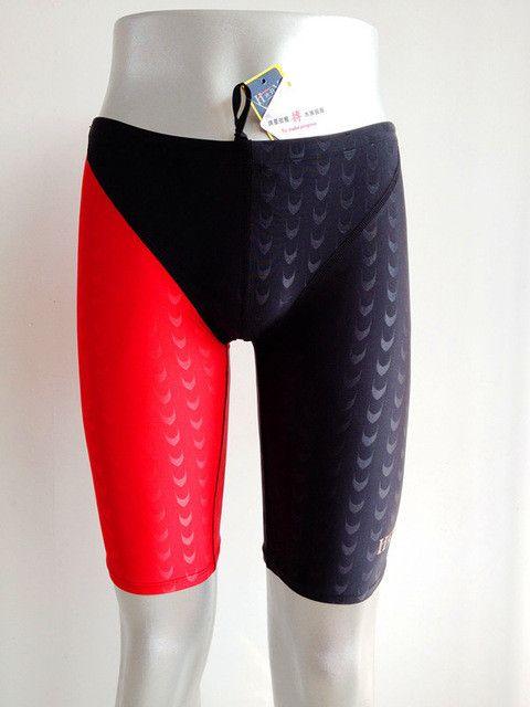 Swimwear Men Swimsuit Sharkskin Boys Competitive Swimming Trunks Man Swimsuits Plus Size Racing Swim Suit Plavky