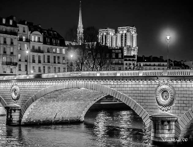 cathédrale Notre-Dame by night