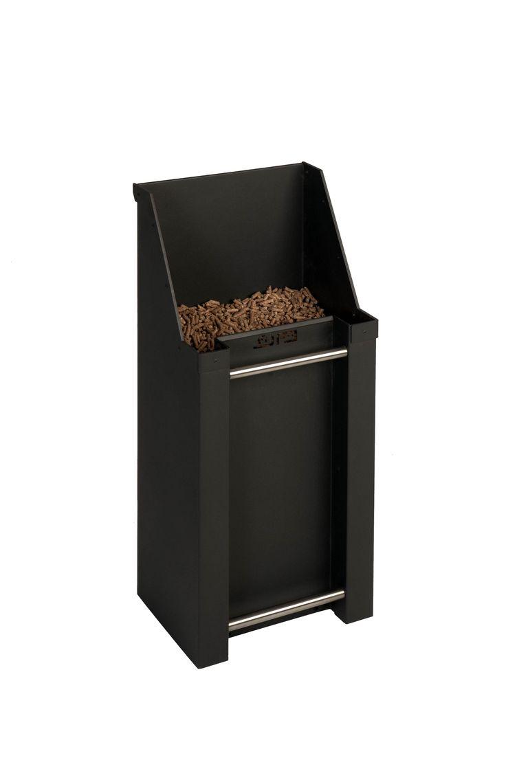 """JAnus pellet kit. Deze aluminium """"bak"""" is onmisbaar bij een pellet kachel. www.eco2all.nl"""