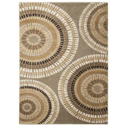 Threshold™ Radial Circle Rug Collection 7x10 $199 at Target for the bedroom: Decor, Radial Circle, Circles, Collection 100, Area Rugs, Thresholdtm Radial, Mobile