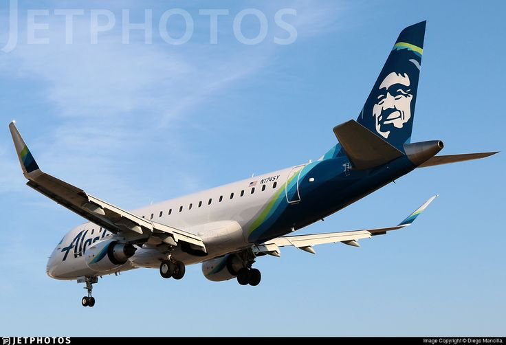 Photo of N174SY - Embraer 170-200LR - Alaska Airlines (Skywest Airlines)