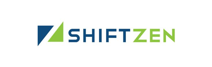 ShiftZen logo. #logo #design #software #company #durhamnc