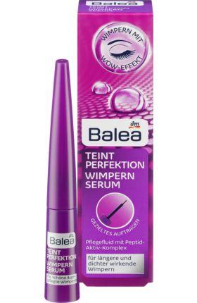 Das Balea Teint Perfektion Wimpernserum enthält einen Peptid-Aktiv-Komplex, der speziell entwickelt wurde, um die Länge und die Dicke der Wimpern zu steige...