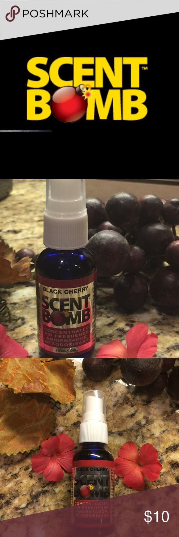 scent bomb black cherry air freshener super strong scent bomb car home office best air freshener for office