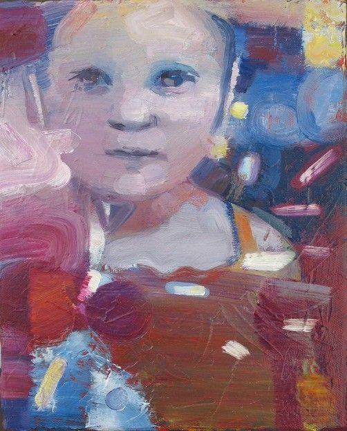 Anastasia, in 2010, oil on linen, 30x24 cm