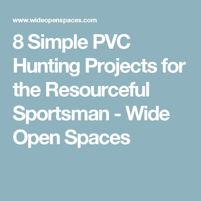 Pvc Projects For The Outdoorsman: 1000+ Ideas About Deer Processing On Pinterest