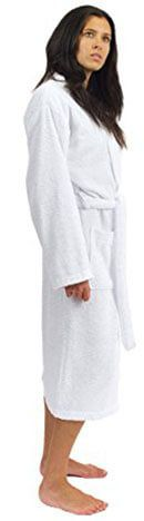 TowelSelections Women's Robe, Front pockets, 100% cotton