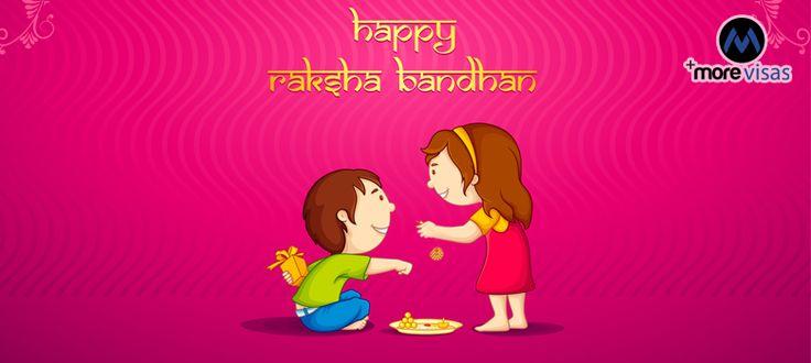 #MoreVisas wishes a #Happy  Raksha Bandhan to all...