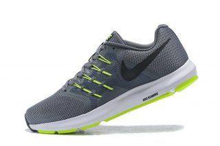 Mens Nike Run Swift Running Shoes Wolf Grey Black Green White 908989 ... 9f66f9d1e