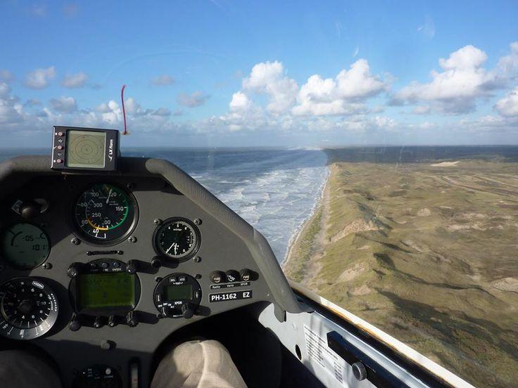 Ridge soaring West Coast The Netherlands, I hope to do this one day