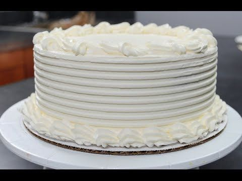 Buttercream Cake Decorating Fast And Easy : Cake Decorating Techniques video tutorial buttercream ...