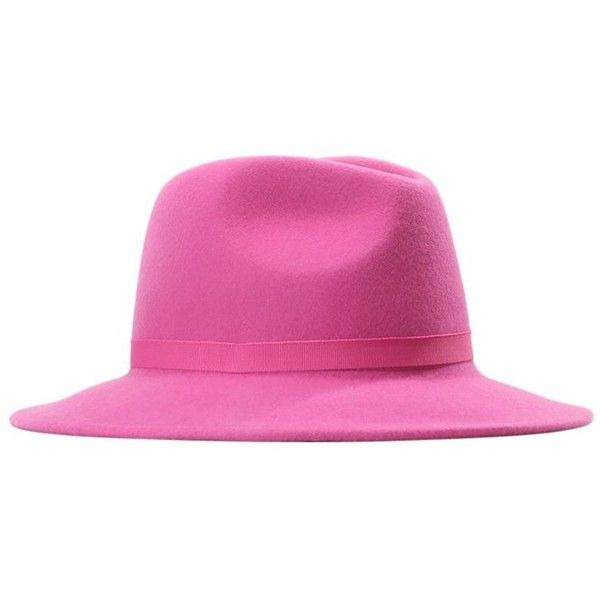 a37a4be370cde PS by Paul Smith WOMEN HAT LINED FEDORA Hatt ❤ liked on Polyvore featuring  accessories