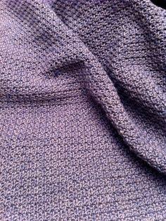Le point granite, tuto crochet gratuit en francais pour debutants, point au crochet,