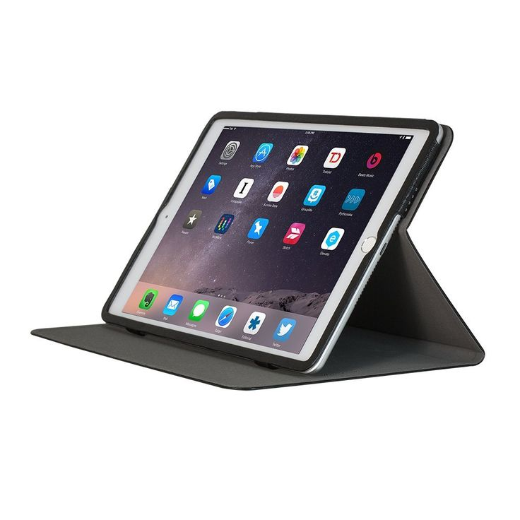 Amazon.com: OZAKI O!coat Adjustbable Multi Angle Slim Smart Case For Apple iPad Air 2 - Black: Cell Phones & Accessories
