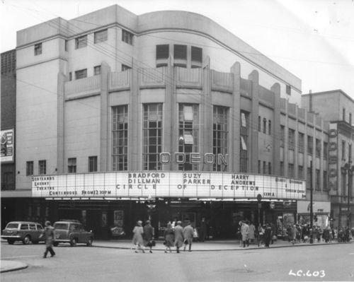 Odeon Cinema, Renfield Street. by Jimmy1361, via Flickr