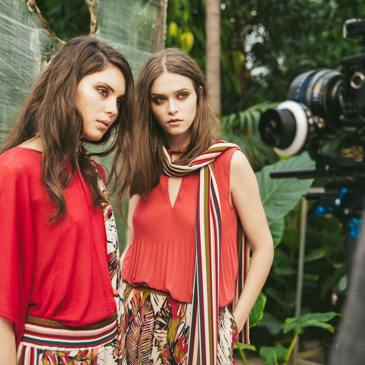 #SS2017 #Sisley #Sisleyfashion #Sisleylook #woman #chic #red #collection #fashion #backstage #stripes