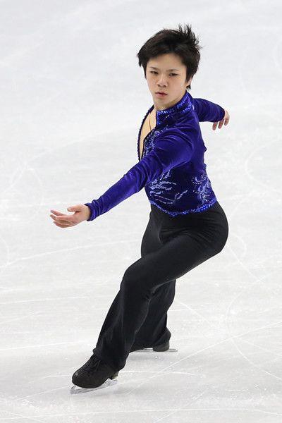 四大陸選手権・男子SP2位の宇野昌磨