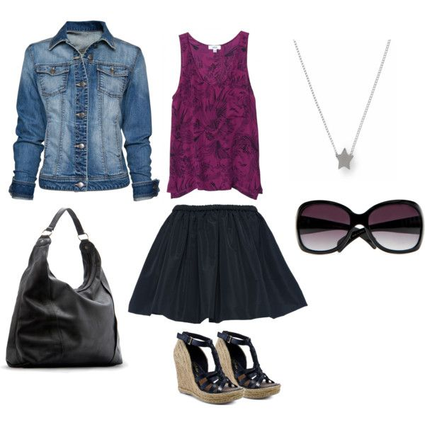 Cute spring/summer date outfit.
