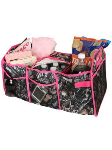 BNB Natural Camo Utility Storage Tote with Insulated Bag #SN516-HPINK - Wholesale Accessory Market