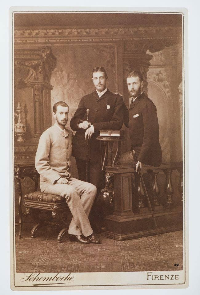 Grand Duke Pavel Alexandrovich Romanov of Russia,Grand Duke Sergei Alexandrovich…