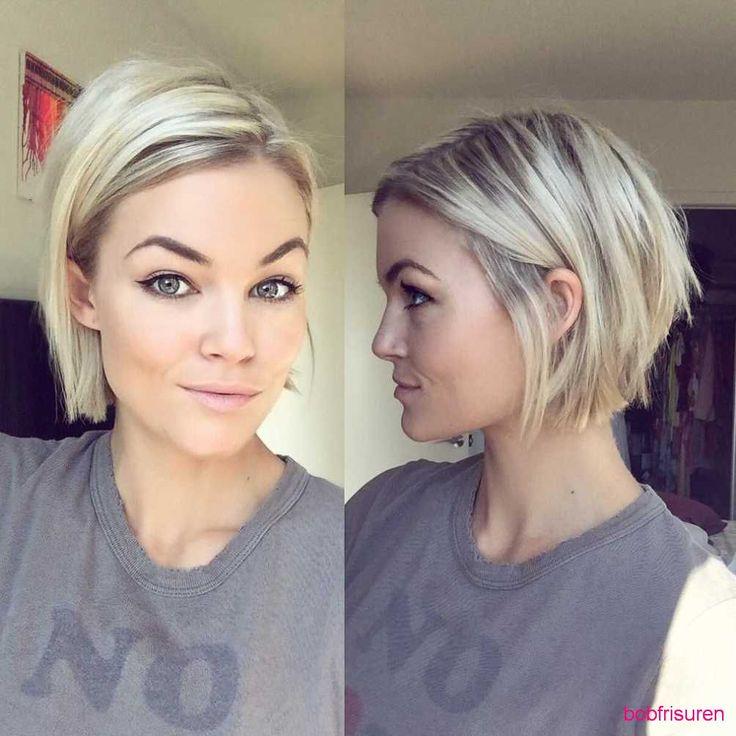 bob-frisuren-fuer-kurzhaarfrisuren-fur-feine-haare | Bob Frisuren 2017 | Damen Kurzhaarfrisuren und Haarfarben Trends