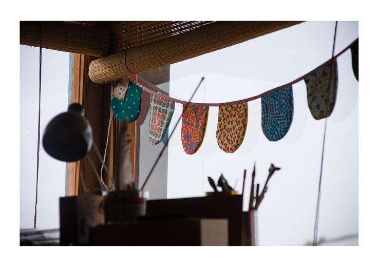 Banderines hechos con amor
