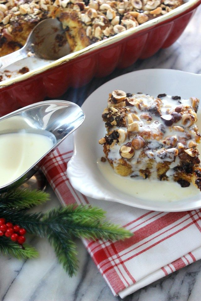 Panettone Bread Pudding – Absolutely delicious and perfect for Christmas morning! from Graceful Order