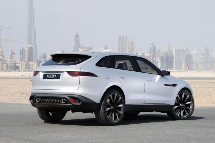 Jaguar C-X17 Concept (2013 Dubai Motor Show)