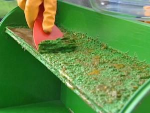 The preferred method for removing paint from wood is by using a chemical stripper. Learn how to apply chemical strippers to remove paint, from DIYNetwork.com.