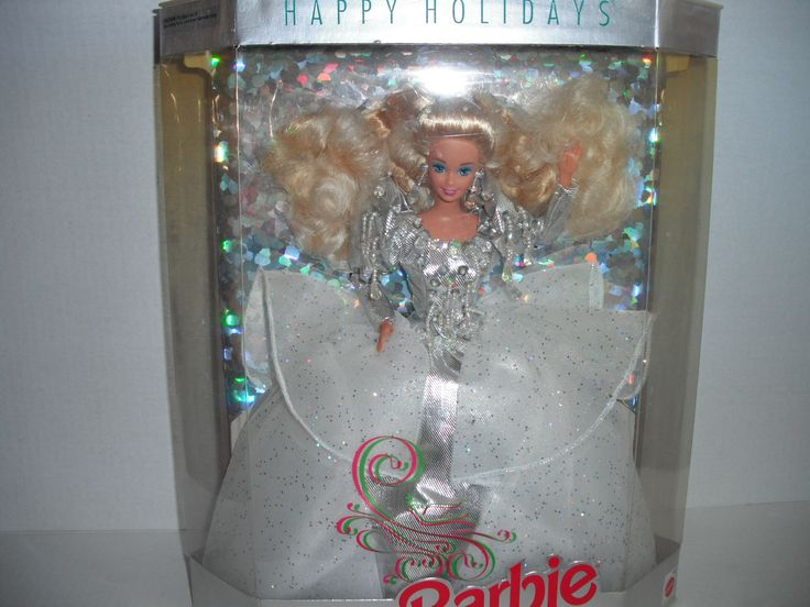 A HOLIDAY FANTASY IN SPARKLING CRYSTAL AND SILVER . SPECIAL EDITION NEW STILL IN BOX.